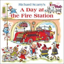 Richard Scarry A Day at the Fire Station