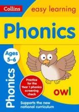 Collins Easy Learning,   Rachel Grant,   Sarah Lindsay Phonics Ages 5-6: New Edition