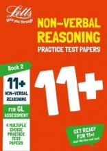 Letts 11+ 11+ Non-Verbal Reasoning Practice Test Papers - Multiple-Choice: for the GL Assessment Tests