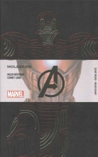 Moleskine the Avengers Limited Edition Notebook, Large, Ruled, Black, Ironman