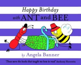 Banner, Angela Happy Birthday with Ant and Bee