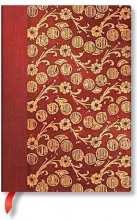 Pb 7295-9 , Paperblanks notitieboek midi lijn virginia woolf`s notebooks the waves volume 4
