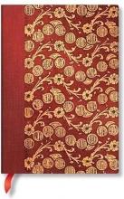 Pb 7295-9 , Paperblanks notitieboek midi lijn virginia woolf`s notebooks the waves volume 4