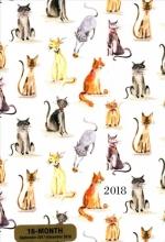 Cat Tales Weekly Planner 2018 Calendar