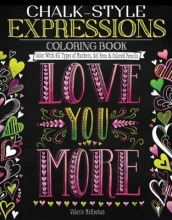 McKeehan, Valerie Chalk-Style Expressions Coloring Book