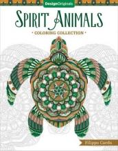 Filippo Cardu Spirit Animals Coloring Book