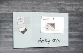 , glasmagneetbord Sigel Artverum 780x480x15mm super wit