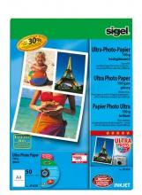 , inkjet Ultra fotopapier A4 190grs hoogglans 50 vel