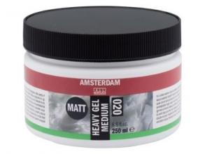 , Talens amsterdam gel medium mat pot 250 ml