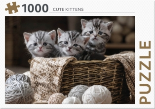 , Cute Kittens - puzzel 1000 st
