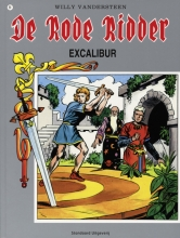 Willy  Vandersteen De rode ridder 51 De excalibur