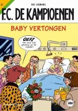 Hec  Leemans F.C. De Kampioenen 51 Baby vertongen