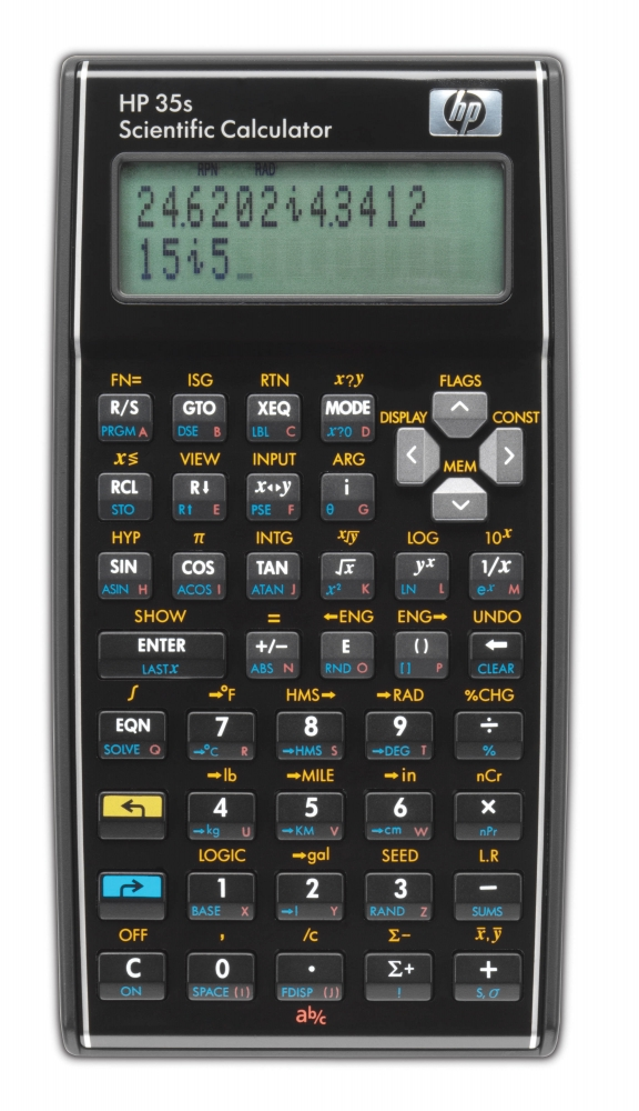 ,Rekenmachine HP 35S