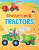 <b>Usborne Stickerboek</b>,Tractors