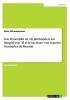 Grimmelmann, Anne, Das Frauenbild im 18. Jahrhundert am Beispiel von
