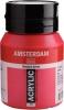 ,<b>Talens amsterdam acrylverf pot 500 ml. primair magenta 369</b>