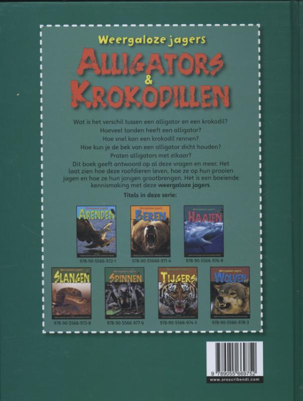 Sally Morgan,Alligators & krokodillen