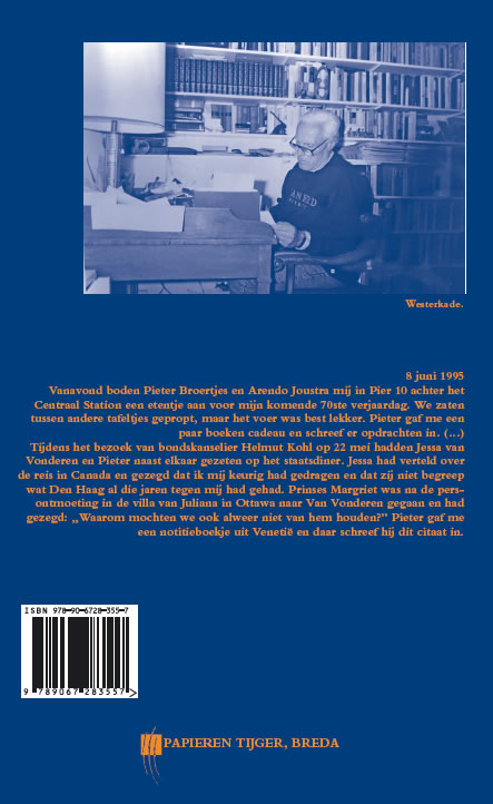 Willem Oltmans,Memoires 1995-A