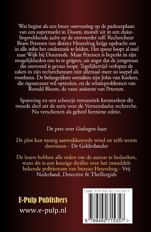 M.P.O. Books,Gedragen haat