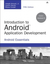 Annuzzi, Joseph, Jr.,   Darcey, Lauren,   Conder, Shane Introduction to Android Application Development