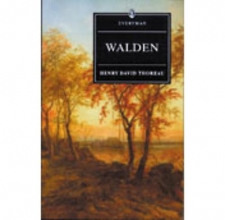 Thoreau, Henry David Walden With Ralph Waldo Emerson`s Essay on Thoreau