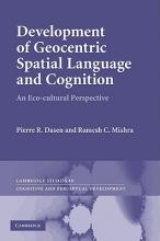Pierre R. Dasen,   Ramesh Chandra Mishra Cambridge Studies in Cognitive and Perceptual Development