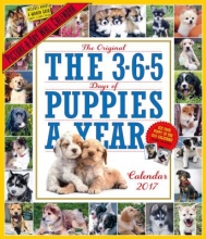 Workman Publishing The 365 Puppies-A-Year Picture-A-Day Wall Calendar 2017