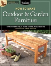 Johnson, Randy How to Make Outdoor & Garden Furniture