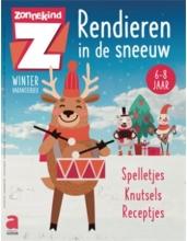 , Winterboek: Rendieren in de sneeuw