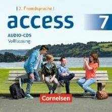 Access - Englisch als 2. Fremdsprache Band 2. 7. Klasse - Audio-CD