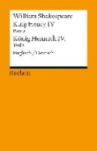 Shakespeare, William King Henry IV, Part 2 Heinrich IV., Teil 2