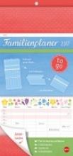 Familienplaner to go Blumen - Kalender 2017