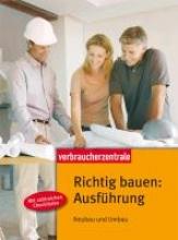 Burk, Peter Richtig bauen: Ausführung