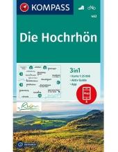 KOMPASS-Karten GmbH , KOMPASS Wanderkarte Die Hochrhön