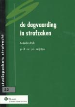 J.M. Reijntjes , De dagvaarding in strafzaken