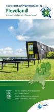ANWB , Fietsknooppuntenkaart Flevoland 1:100.000