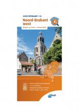 ANWB , Fietskaart Noord-Brabant west 1:66.666