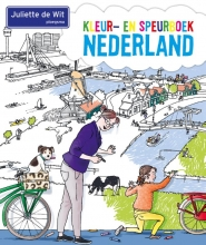 Juliette de Wit Kleur- en speurboek Nederland