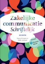 Karen Knispel , Zakelijke communicatie - Schriftelijk, 4e editie met MyLab NL toegangscode