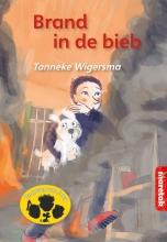Tanneke  Wigersma Brand in de bieb