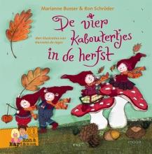 Marianne  Busser, Ron  Schröder De vier kaboutertjes De vier kaboutertjes in de herfst