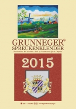 Fré  Schreiber Grunneger spreukenklender 2015