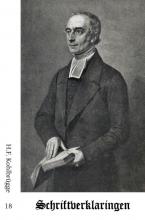 H.F.  Kohlbrügge Schriftverklaringen 18