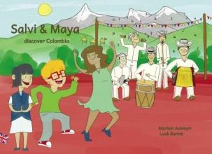 Mariem  Aameyri Salvi & Maya discover Colombia