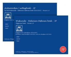 O.H.M.  Sanders Wiskunde - rekenen oefenen boeken Set 3F - 2014/2015 - MBO, HAVO, VWO - Versie 1.0 - Verplichte rekentoets