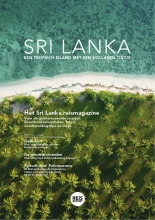 Godfried van Loo Marlou Jacobs, Sri Lanka reisgids magazine