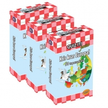 QUIZ IT junior - Kris kras Europa, 3pack - QT813