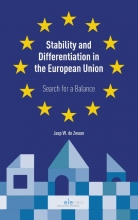 Jaap de Zwaan Stability and Differentiation in the European Union