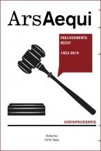 , Jurisprudentie Faillissementsrecht 1953-2019