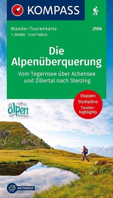 KOMPASS-Karten GmbH,Die Alpenüberquerung